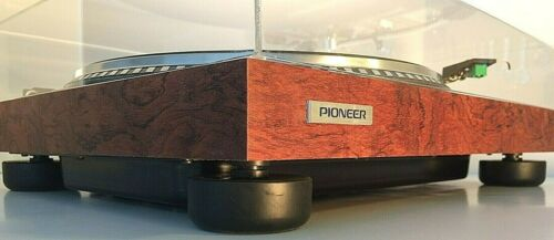 PIONEER NEW TURNTABLE REPLACEMENT FEET PL-518, PL-540, PL-560, PL-516 + OTHERS