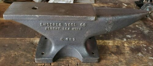 Vintage Enderes E352 Blacksmith Cobblers Anvil 24 lbs 7.3 oz Made in USA