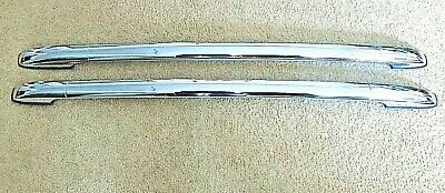 2006-2011 CHEVROLET GM HHR SS ROOF LUGGAGE BARS RACK RAILS CHROME FACTORY OEM