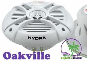 Products / Pyle (PLMRX67) HYDRA 250 Watts 6.5'' 2 Way Marine Audio Speakers (Pair)