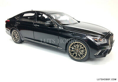 1:18 MINIKRAFT HYUNDAI GENESIS G80 SPORT DIECAST MODEL CAR (BLACK) 18006MB