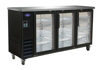 Valpro 72 Three Glass Swing Door Back Bar Cooler Brand New Nsf