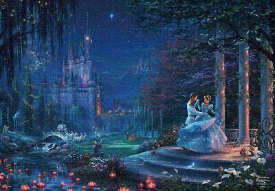 Disney Thomas Kinkade Cinderella Dancing in the Starlight 1000 Piece Puzzle NEW