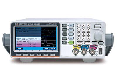Gw Instek Mfg-2230m 30mhz Arbitrary Function Generator Dual Channel Afg