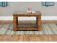 Shipton Rustic Open Coffee Table