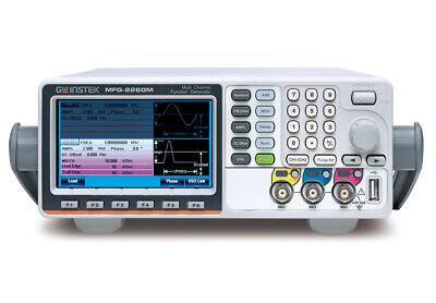 Gw Instek Mfg-2260m 60mhz Arbitrary Function Generator Dual Channel Afg