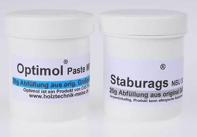 Staburags + Optimol je 20g für BMW R 80, R 100, K 75, K 100 u Moto Guzzi