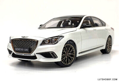 1:18 MINIKRAFT HYUNDAI GENESIS G80 SPORT DIECAST MODEL CAR (WHITE) 18007MW