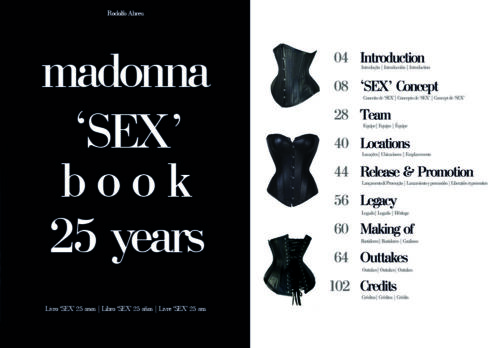 SEX 25 Years (book) Madonna