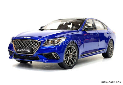 1:18 MINIKRAFT HYUNDAI GENESIS G80 SPORT DIECAST MODEL CAR (BLUE) 18008MBLUE
