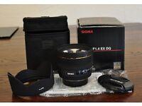 Sigma 50mm F1.4 EX DG HSM for Nikon Like New