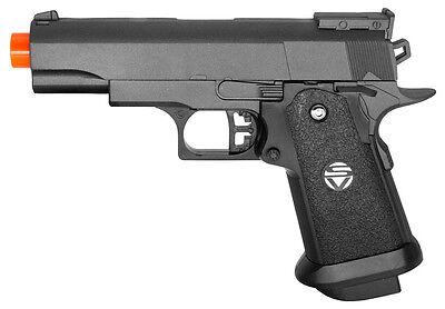 G10 Galaxy Airsoft Spring Pistol M1911 Colt 1911 Full Metal Gun M9 Black (Colt 1911 Spring Pistol)