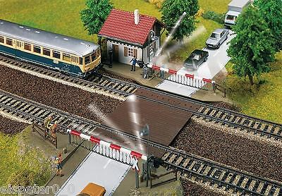Faller 120174 Gauge H0 Railroad Crossing M.Crossing Keeper''s House Kit 1:87