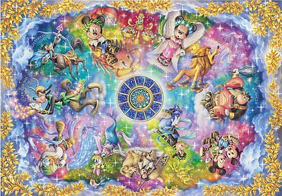 Jigsaw Puzzle Disney constellation Stained Art 1000 p Japanese Tenyo DS-1000-773
