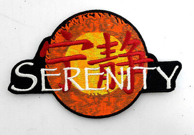 "Serenity/Firefly Logo DELUXE Embroidered Patch 4.5""-USA Mailed (SEPA-002-D)"