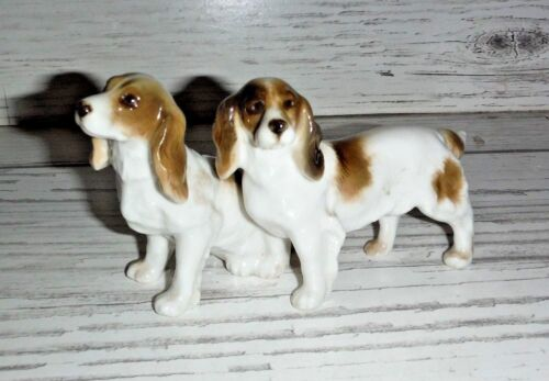 Vintage Germany Hunting Dog Figurine SETTER Pair