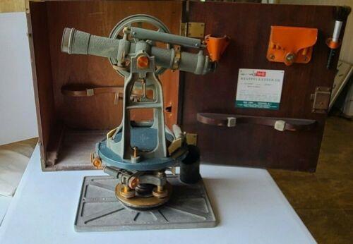 Vintage K & E   Keuffel & Esser Transit Level  Surveying Instrument (Paragon)
