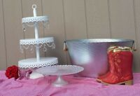 Cake And Cupcake Stands * Calgary Party And Wedding Rentals