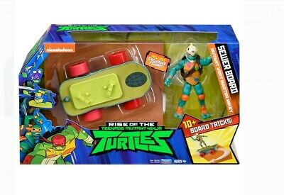 NEW Rise of the TMNT Sewer Board w/ Mutant Vert Master Mikey Ninja Turtles