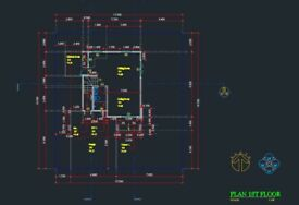 Drawn/Draft service Civil and Electric System Use AutoCAD
