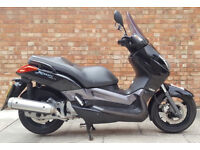 Yamaha XMAX 125, part ex to clear