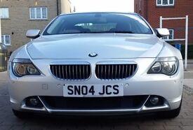 BMW 645Ci 645 Ci 4.4 V8 SILVER AUTOMATIC