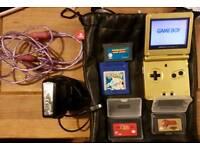 Limited Edition Zelda Game Boy Advanced SP
