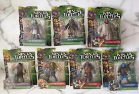 Teenage Mutant Ninja Turtles 2014 Movie Action Figures.