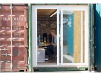 Affordable studios for makers, music producers and creatives | Cardiff Containers