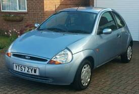 FORD KA 1.3 STYLE CLIMATE (2008)-12 MONTHS MOT-Full S/History* VERY LOW MILEAGE*- Air Con- Stunning!
