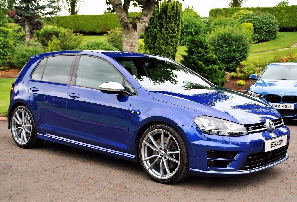 Volkswagen Golf 2.0 TSI R DSG 4 Motion *** Lapiz Blue *** | in ...