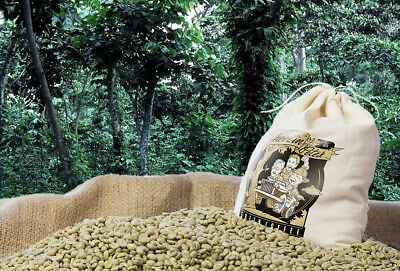 Guatemala Antigua Green Coffee - 3lb Grd 1 Double Picked Premium Specialty Guatemala Antigua Green Coffee Beans