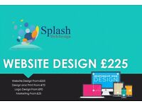 SMALL BUSINESS WEBSITE DESIGN FROM ONLY £225, DESIGN & PRINT FROM £70 AND LOGO DESIGN FROM £90