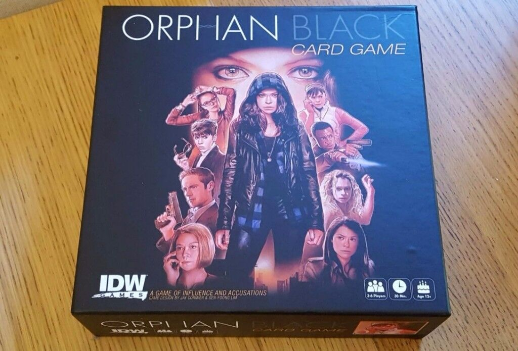 Orphan Black Card Game (Perfect Condition)