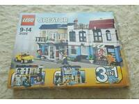 Lego 31026 Bike Shop N Cafe 100% Complete