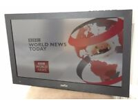 24in LED TV with built-in DVD Player and Freeview.