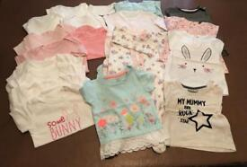 3-6 and 6-9 month girls clothing