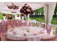 Weddings, private events and corporate events at competitive prices.