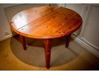 Rustic Farmhouse Dining Room Table