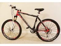 focus carbon mountain bicycle medium size frame free delivery