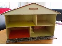 Collectable dolls house late 60s/early 70s