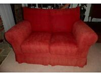 "Multiyork 'Natalie"" large 2-seater sofa and small 2-seater sofa."