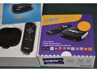 Brand new now tv box never used £12