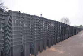 New Domestic 240 Litre Black Wheelie Bin - Free Delivery Lisburn Belfast