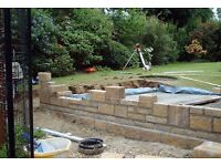 Bricklaying or Building work wanted , with gang or firm or private homeowners etc