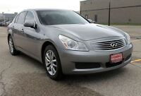2007 Infiniti G35X / AWD + Sunroof + Leather + CERTIFED
