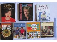 7 BOOKS cookery Delia Smith Gordon Ramsay Jamie Oliver Ready Steady Cook classic recipes SEEN ON TV