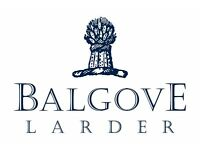 Balgove Larder Steak Barn Head Chef