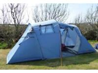 4 man tent and equipment