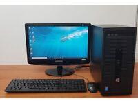 HP PC Computer Windows 10, Intel i3-4160, 8GB RAM & 500GB HDD